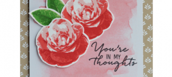 CARD: You're in My Thoughts Sympathy from Picture Perfect