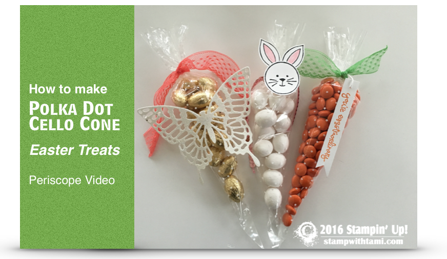 VIDEO How To Make Polka Dot Cone Easter Treats