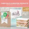 SNEAK PEEK: 3 New Sale-a-bration Products & Video *Spoiler Alert*