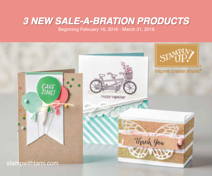 new sale-a-bration products begining february 16 2016