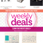 Stampin Up Weekly Specials end February 8 & Periscope Replays