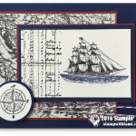 RETIRING: The Open Sea Masculine Ship Card