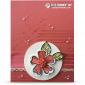CARD: Gorgeous Watermelon Wonder Flower