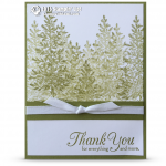 CARD: Lovely as a Tree Thank You