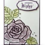 CARD: Cool Rose Wonder Wedding Wishes Technique & Winner Announcement