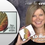 BLOG HOP & VIDEO: Stamp It Spring Fling – Butterfly Away Card