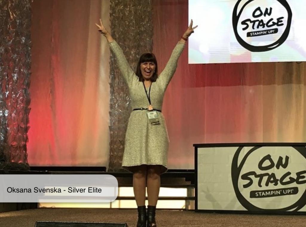 oksana on stage