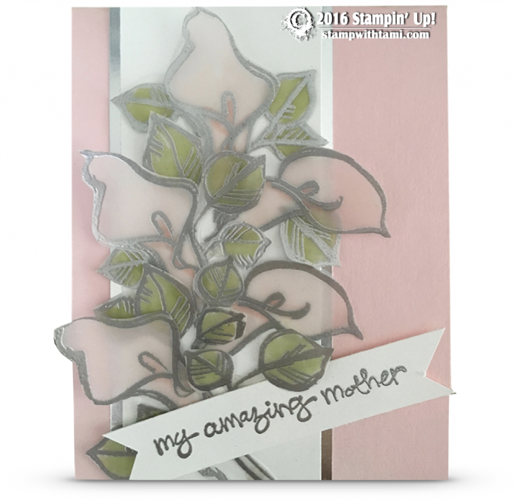 stampin up remarkable you mothers day card