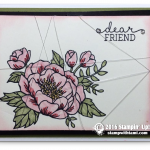 CARD: Dear Friend Card from Stampin Up  Birthday Blooms