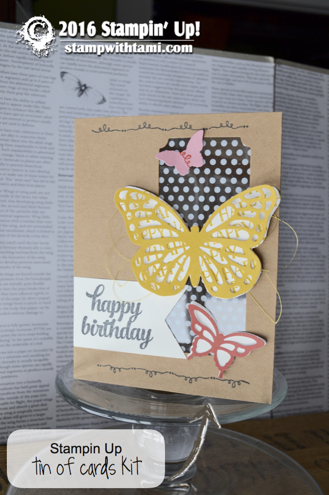 stampin up tin of cards 1