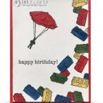 VIDEO: Friday Fun Toy Parachute Man Lego Card