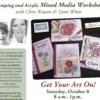 EVENT: Get Your Art On Workshop coming October 8