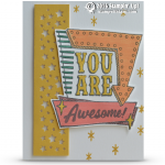 SNEAK PEEK: You Are Awesome Marquee Messages Card