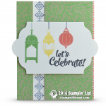 SNEAK PEEK: Moroccan Nights Celebrate Lanterns Card