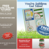 FREE TUTORIAL: You're Sublime Card Tutorial + Bonus– Free with Orders
