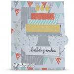 CARD: Build a Birthday Cake – Birthday Wishes card