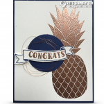 CARD: Copper Pineapple WOW Card