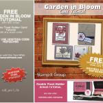 FREE TUTORIAL: Garden in Bloom Tutorial + Bonus– Free with Orders – ends June 15
