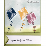 CARD: Swirly Bird Kite Smiles