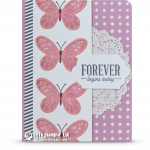 CARD: Forever Begins Today Butterflies Card