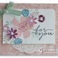CARD: Beautiful For you card from Blooms and Wishes