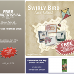 FREE ORDERING TUTORIALS: Swirly Bird Collection and Celebration Gift Bag