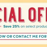 SPECIAL OFFERS: 25% Off – Week 3 offers end Sept 21