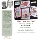 CLASS: Get Your Art on at New England Traditions Convention Oct 8 – space is limited