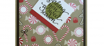 CARD: Wishing you a sweet season from Candy Cane Christmas