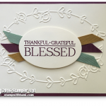BLOG HOP: Blessed with Paisleys and Posies Card