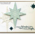 CARD: Gorgeous Sparkly Star of Light Card