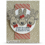 CARD: Reindeer Friends from Cookie Cutter Christmas