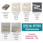 SPECIAL OFFERS: 25% Off – Week 2 offers end Sept 14