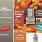 FREE TUTORIALS: Moroccan Leaves Card Tutorial & Thanksgiving Pocket Bonus – ends Sept 30