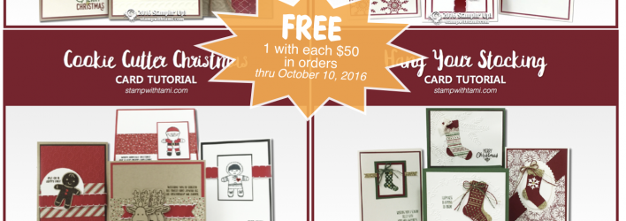 FREE TUTORIALS: Collect all 4 – ends October 15
