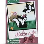 CARD: Stinkin' Cute Photobombing Skunks from Australia