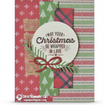 CARD: Wrapped in Warmth and Love Christmas Card