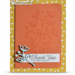 CARD: Flourishing Phrases Thank you so Very Much Card