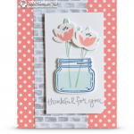 CARD: Jar of Love and Thankfulness card