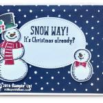 CARD: Snow Way! It's Christmas Already?