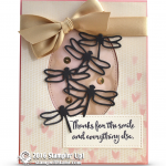 SNEAK PEEK: Thanks for the Smile Card from Dragonfly Dreams