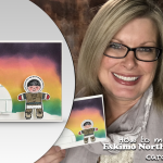 VIDEO: How to make a beautiful Northern Lights Alaskan Eskimo Card