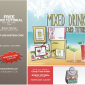 FREE TUTORIALS: Mixed Drinks Card Tutorial & Candy Treat Bonus Tutorials – ends Dec 15