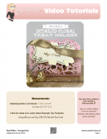 2017-01 Detailed Floral treat holder-stampwithtami-stampin up