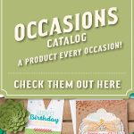 Introducing the Stampin Up 2017 Occasions Catalog