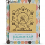 CARD: Ferris Wheel Fun Birthday Card