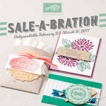 3 New Sale-a-bration Products Added today! Earn them now thru March 31