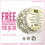 FREE Metal Rimmed Pearls & more with $50 purchase – ends February 28