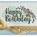 CARD: Big on Birthdays WOW card
