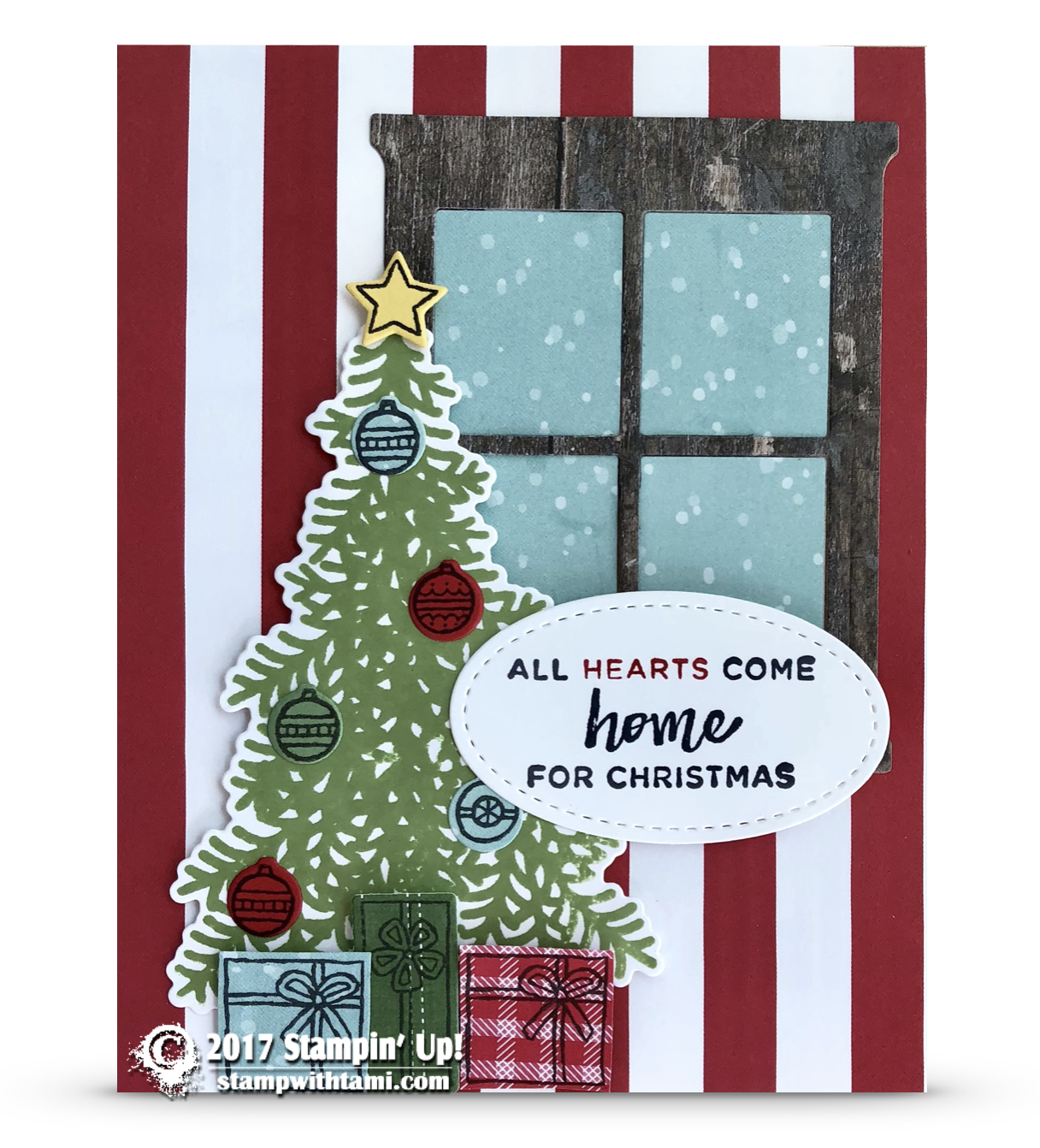 Card Come Home Tree From The Ready For Christmas Bundle
